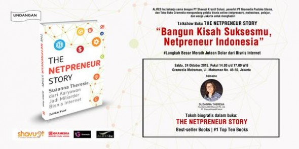 The Netpreneur Story: Suzanna Theresia