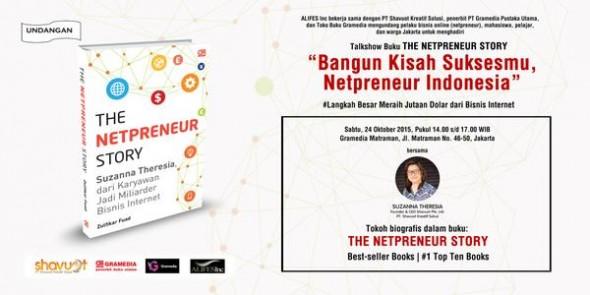 The Netpreneur Story: Suzanna Theresia