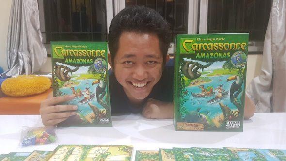 Carcassone: Amazonas, Salah Satu yang Paling Seru dari Serial Board Game Carcassone