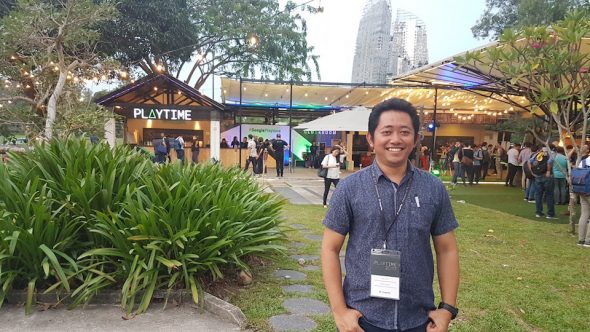 Menghadiri Event Google Playtime Singapore 2017