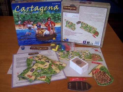 Cartagena 2: The Pirate's Nest, Board Game bertema Pirate dan Racing